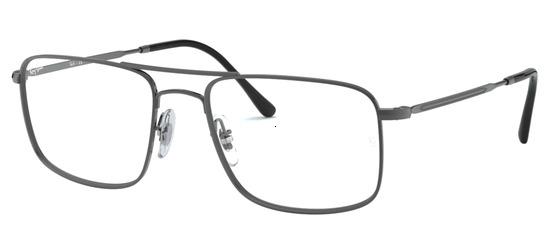 lunettes de vue Ray-Ban RX6434-2502 Gunmetal