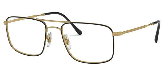 lunettes de vue Ray-Ban RX6434-2946 Noir Or