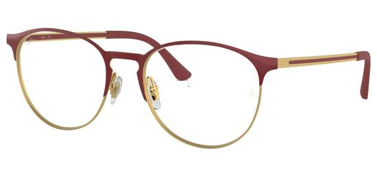 lunettes de vue Ray-Ban RX6375-2982 Bordeaux Or