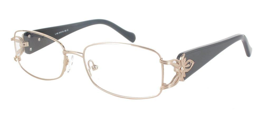 lunettes de vue ExperOptic Isaure Or Noir