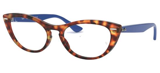 lunettes de vue Ray-Ban RX4314V-5936 Ecaille Bleu
