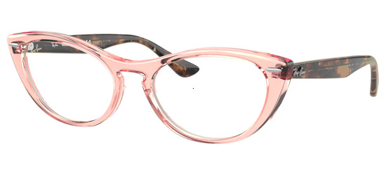 lunettes de vue Ray-Ban RX4314V-8081 Transparent Rose