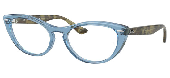 lunettes de vue Ray-Ban RX4314V-8082 Transparent Bleu