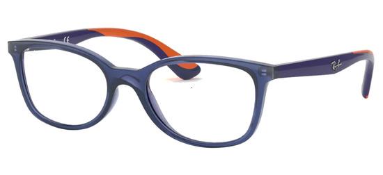 lunettes de vue Ray-Ban RY1586-3775 Bleu Translucide