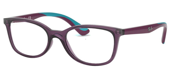 lunettes de vue Ray-Ban RY1586-3776 Violet Translucide