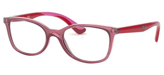 lunettes de vue Ray-Ban RY1586-3777 Rouge Translucide