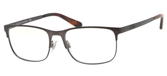 lunettes de vue Ralph Lauren PROMO Polo PH1189-9157 T56 Gris Gun Mat
