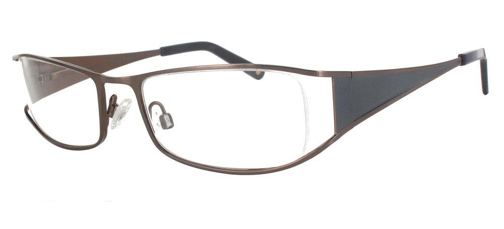 lunettes de vue ExperOptic Sarator Cafe et Gun