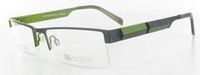 lunettes de vue ExperOptic Moscou Noir et Vert olive
