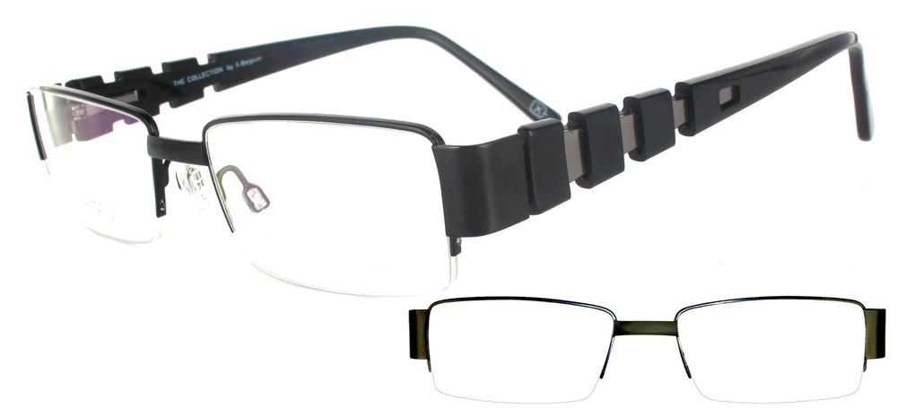 lunettes de vue ExperOptic Torreon Noir et Gun