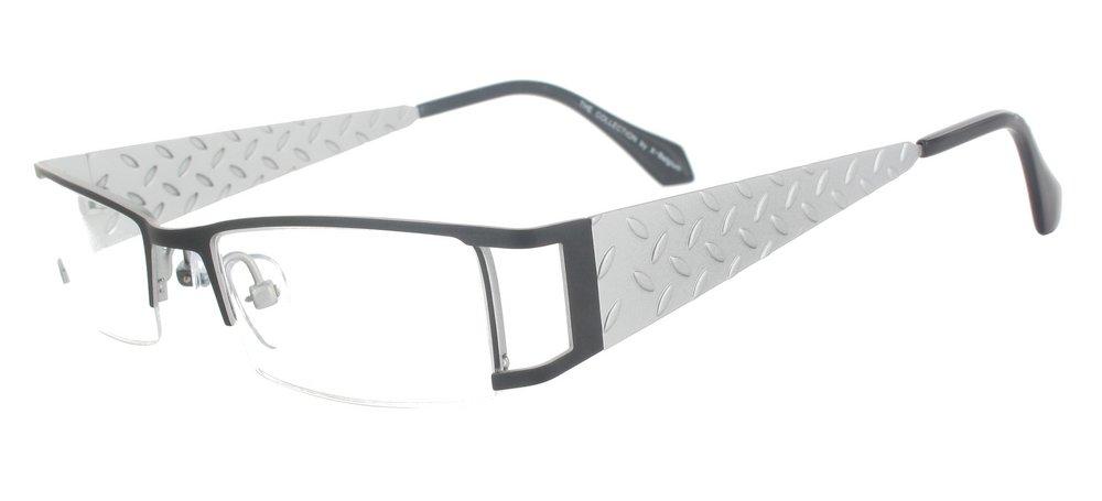 lunettes de vue ExperOptic Macadam Noir et Argent