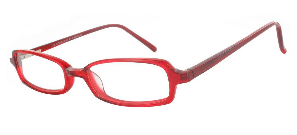 lunettes de vue ExperOptic Cameron Rouge cristal