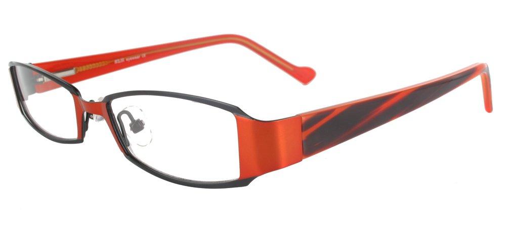 lunettes de vue ExperOptic Curacao Noir Orange