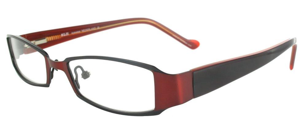 lunettes de vue ExperOptic Curacao Bourgogne Noir