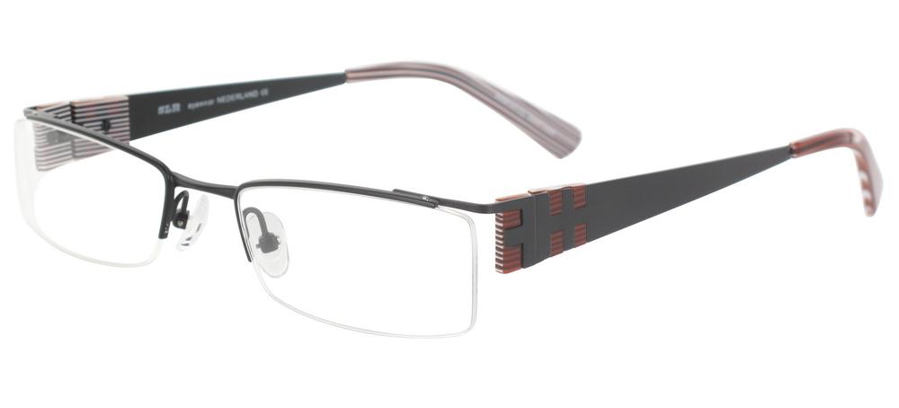 lunettes de vue ExperOptic Lancon Encre de Chine Caramel