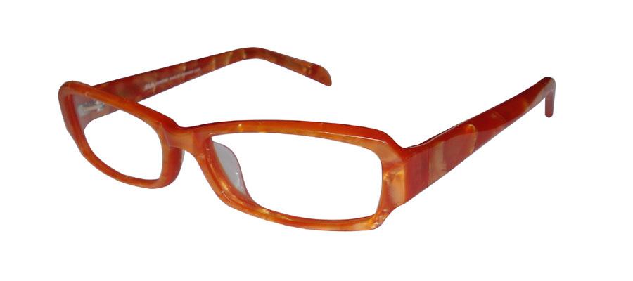 lunettes de vue ExperOptic Imogene Abricot nacre