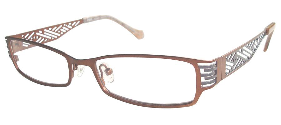 lunettes de vue ExperOptic Ispahan Acajou Gris