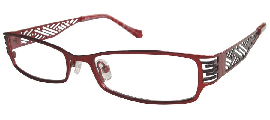 lunettes de vue ExperOptic Ispahan Bourgogne Noir