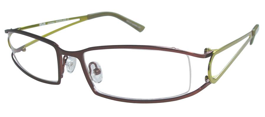 lunettes de vue ExperOptic Ankara Bourgogne Vert chartreuse