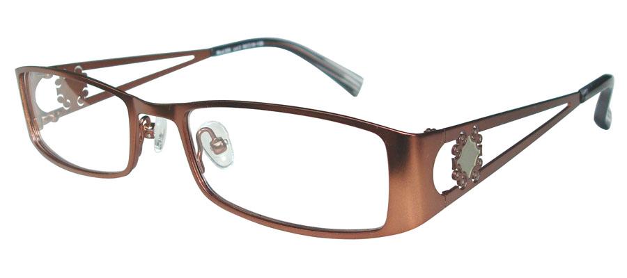 lunettes de vue ExperOptic Maral Acajou
