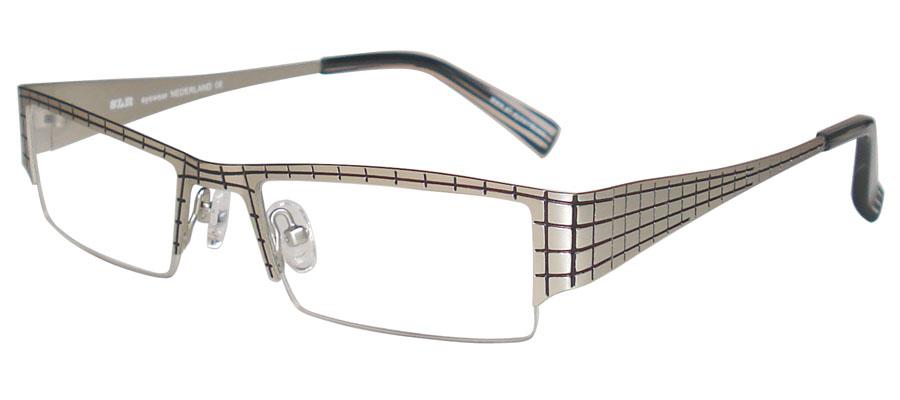 lunettes de vue ExperOptic Aberdeen Argent Noir