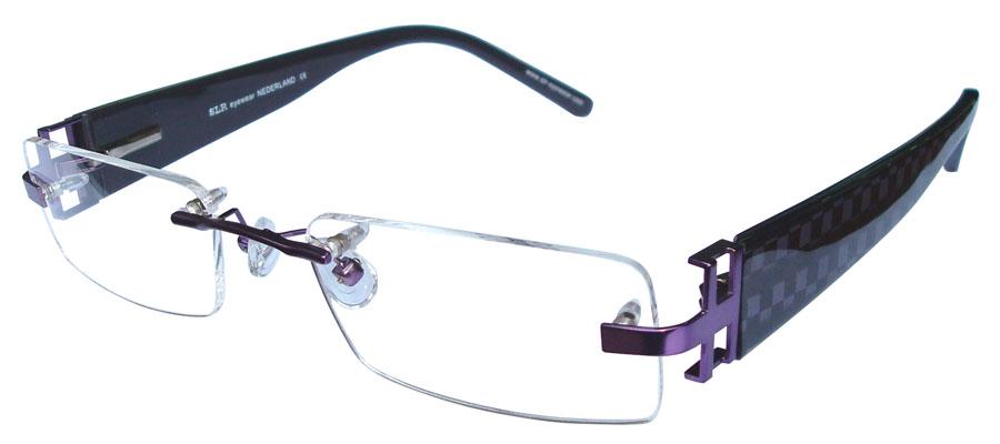 lunettes de vue ExperOptic Girvan Amethyste Noir nacre