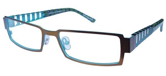lunettes de vue ExperOptic Karakol Bronze Bleu givre