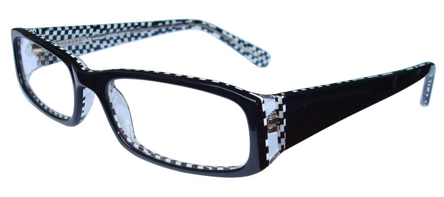 lunettes de vue ExperOptic Oban Noir Damier