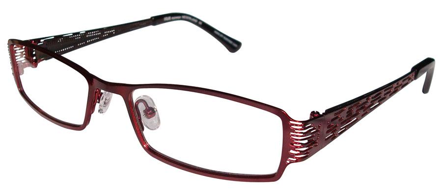 lunettes de vue ExperOptic Goa Amarante Noir