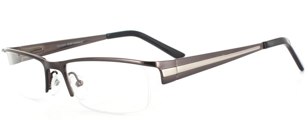 lunettes de vue Oslo Gun et Argent