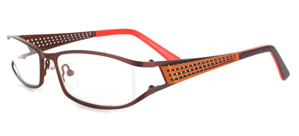 lunettes de vue ExperOptic Haarlem Caramel Orange