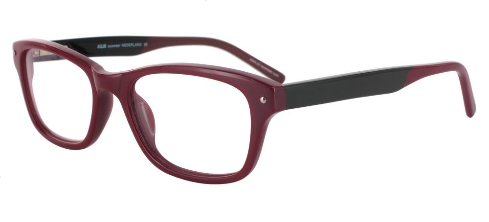 lunettes de vue ExperOptic Jordaan Bordeaux er noir