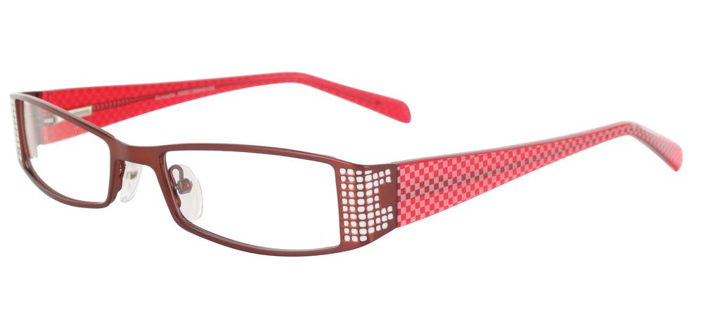 lunettes de vue ExperOptic Ibiza Bourgogne Blanc