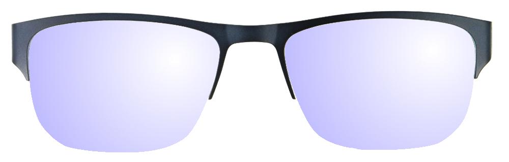 lunettes de soleil ExperOptic Remplacement 2 verres sur monture demi-cercle