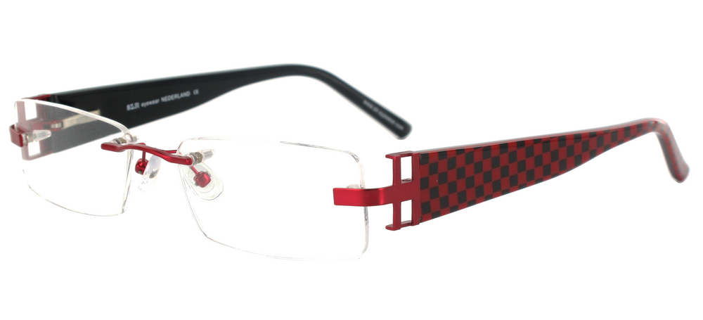 lunettes de vue ExperOptic Girvan Rouge Carmin