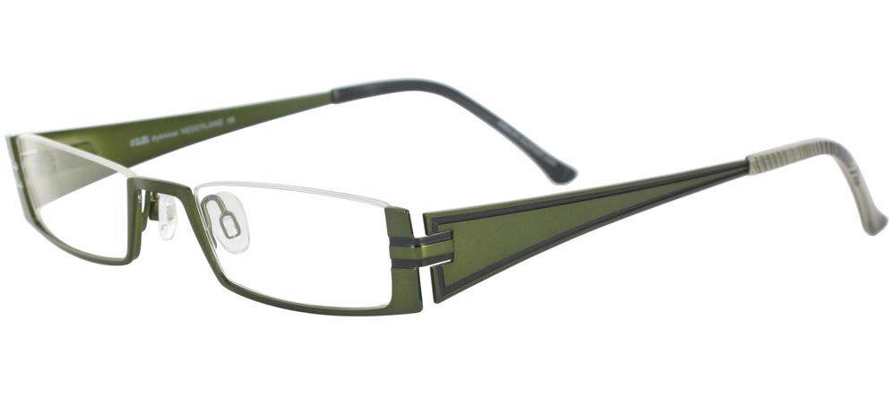 lunettes de vue ExperOptic Zenaide Vert olive