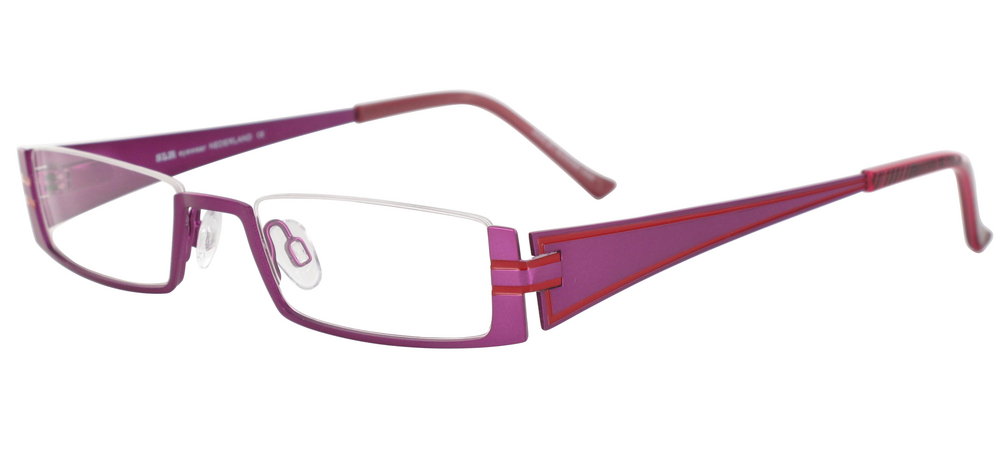 lunettes de vue ExperOptic Zenaide Lilas Fraise