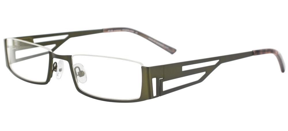 lunettes de vue ExperOptic Ziggy Kaki