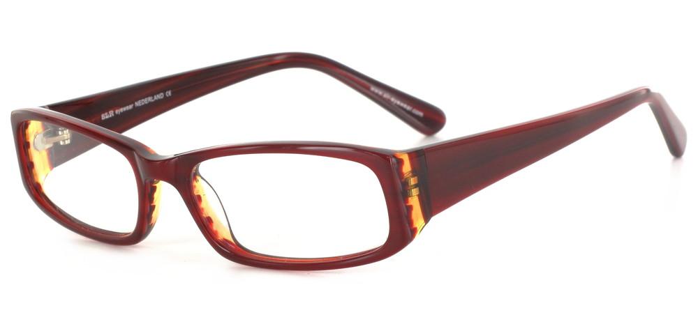 lunettes de vue ExperOptic Oban Ambre rouge flamme