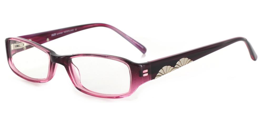 lunettes de vue ExperOptic Floralia Noir fume