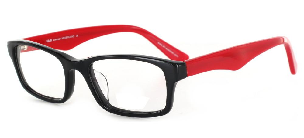 lunettes de vue nigata noir et rouge experoptic. Black Bedroom Furniture Sets. Home Design Ideas