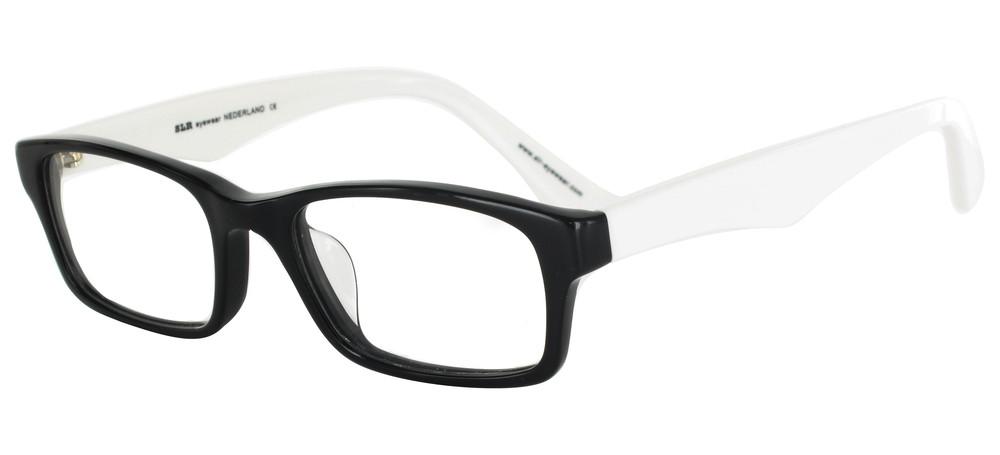 lunettes de vue ExperOptic Nigata Noir et Blanc